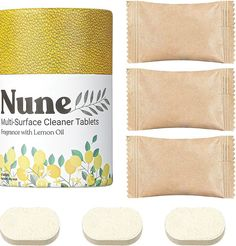 (This is an affiliate pin) Nune Multi Surface Cleaner Tablets All Purpose