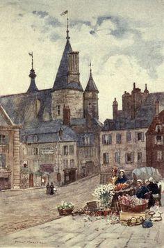 The Hôtel-de-Ville, Nevers (Herbert Marshall)