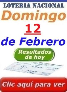 Sorteo Dominical del 12 de Febrero 2017 Loteria Nacional de Panama