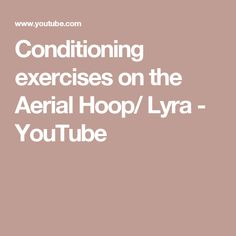 Conditioning exercises on the Aerial Hoop/ Lyra Pole Dancing Quotes, Pole Dancing Fitness, Pole Fitness, Lyra Aerial, Aerial Hoop, Pole Dance Studio, Advice For Newlyweds, Conditioning Workouts, Snoring Remedies