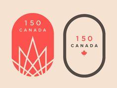 Canada 150 Logo Design Concept
