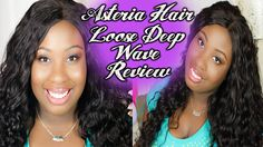 Asteria Hair   Aliexpress Hair Review   Brazilian Loose Deep Wave