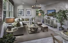 Melody Residence 2 Living Space. New Homes. Real Estate. Lennar. Irvine. Beacon Park. Orange County. California.