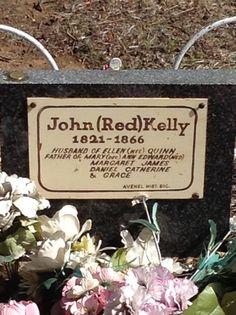 Ned Kelly's Dad's headstone Averill Ned Kelly, Study Ideas, Place Card Holders, Australia, Activities, History, Red, Historia, History Activities