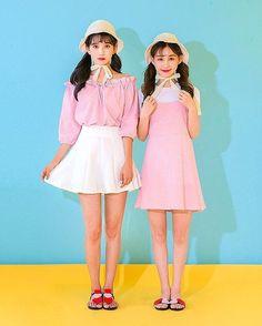 Korean Fashion Similar Look #Icecream12_japan #Twinlook