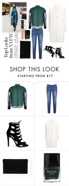 """""""Casual Type"""" by putrirsekar on Polyvore featuring Delpozo, Brakeburn, Roland Mouret, MANGO, Butter London, NARS Cosmetics, women's clothing, women, female and woman"""