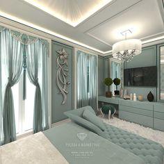 Дизайна бирюзовой спальни в таунхаусе  http://www.line-mg.ru/sovremennye-idei-dizayna-spalni-v-biruzovyh-tonah