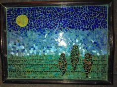 three little birds - mosaic