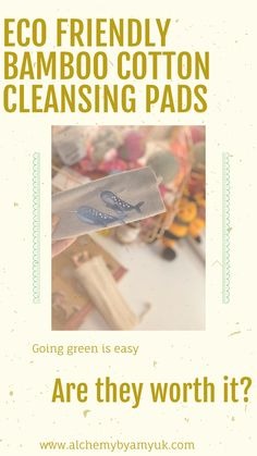 Alchemy by amy uk Eco friendly bamboo cotton reusable cleansing pads eco friendly sustainable long lasting reusable washable value for money Cleaning Day, Green Cleaning, What Happened To Us, Blog Pictures, Wellness, Match Making, Cotton Pads, Vegan, Wash Bags