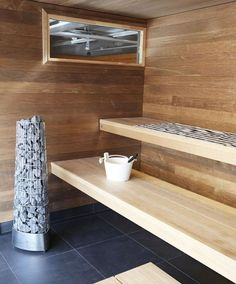 Harvia Kivi is the perfect solution for heating up your city sauna. Sauna Steam Room, Sauna Room, Sauna Design, Home Gym Design, Modern Saunas, Spas, Piscina Spa, Building A Sauna, Portable Sauna
