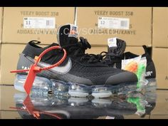 PK God Off White x Nike Air VaporMax Black Ready to Ship from CitySole.RU 05ac6087f