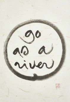 Thich Nhat Hanh's Calligraphy Exhibit: Five Pieces From the Show