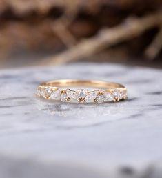 Thick Wedding Bands, Antique Wedding Bands, Diamond Wedding Bands, Wedding Rings, Diamond Rings, Matching Wedding Bands, Womens Wedding Bands, Gold Wedding, Vintage Rose Gold