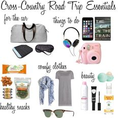 Cross Country Road Trip Essentials