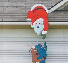 Helpful Reindeer Woodcrafting Pattern Christmas Halloween other holidays yard decorations