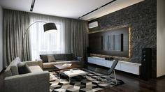 DIY design les éléments d un design d intérieur parfait decoration salon mur en pierre