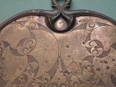 Celtic Bronze Mirror - Detail