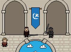 Top 14 des morts de Game of Thrones en gif 8 bit (la HD au fond, c'est pour les nazes)