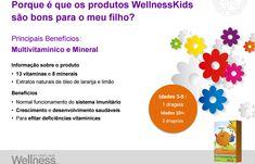 Vitaminas para dar energia aos mais novos e para reforçar o seu sistema imunitário.