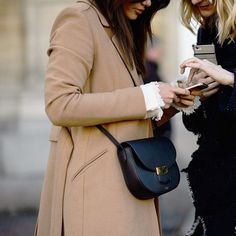 #mulpix Celine 'Trotteur' Bag is spotted on the street of Copenhagen Fashion Week. #Repost from wmag.com #CelineTrotteur #CopenhagenFashionWeek