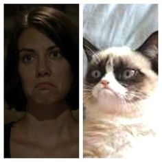 "And Maggie became Grumpy Cat: | ""The Walking Dead"" Season 3 Recapped In Memes"