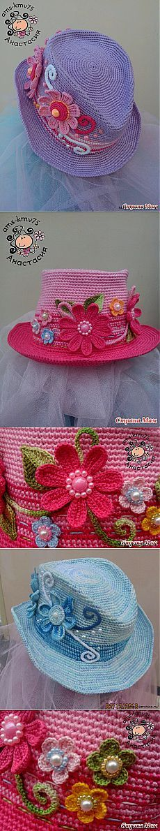 Шляпка в мужском стиле для маленькой модницы - мк.