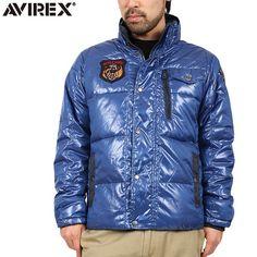 AVIREX アビレックス PADDING T.A.F.中綿ジャケット BLUE