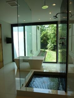 Argonne Residence Bathroom - modern - bathroom - atlanta - Cablik Enterprises