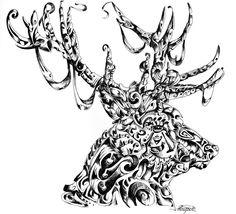 Gorgeous animal illustrations in pen