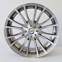 "MODEL : Stryke-1 RIM SIZE : 18"" x 8"" RIM ET : 32 RIM HOLE : 9 x 114.3 RIM HUB : 67.1 COLOR : GM MACHINED FACE PRICE : 95.41 $"