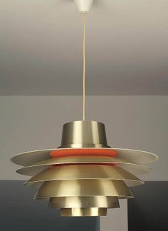 Mid Century Danish Pendant Light