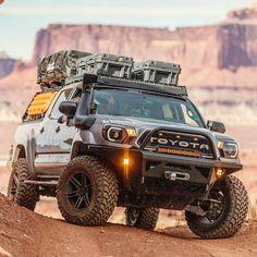 Toyota Tacoma 4x4, Tacoma Truck, Toyota Hilux, Overland Tacoma, Overland Truck, Toyota Trucks, Toyota Cars, Expedition Vehicle, Jeep Cars