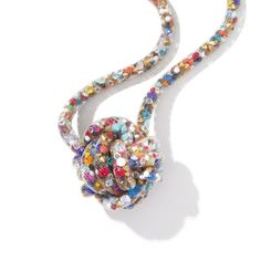Confetti Knot Necklace