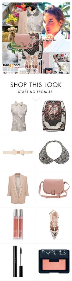 """""""Barbara Palvin"""" by dora04 ❤ liked on Polyvore featuring Jennifer Lopez, Rascal, KEEP ME, Ted Baker, DANNIJO, French Connection, Valentino, shu uemura, NARS Cosmetics and vintage"""