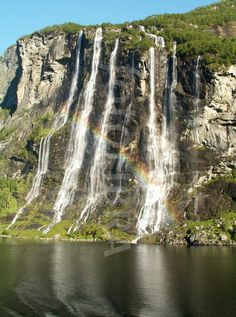 The Seven Sisters Waterfall, Norway