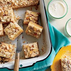 Lemon-Almond Bars | MyRecipes.com