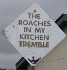 How to get rid of roaches. Good to know for when we move south.