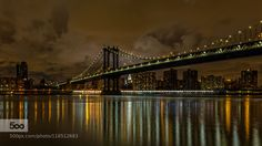 Photo to Inspire — Brooklyn Bridge and NY Skyline by kyderoy
