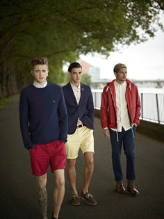 Farah Vintage Spring/Summer 2013 Collection: Music Scene Associated Heritage & Slim-Cut Styles For British Young Men