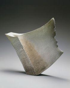 "Kohyama Yasuhisa's ""Wind"" part of Japan Society Gallery's ""Contemporary Clay: Japanese Ceramics for the New Century"""