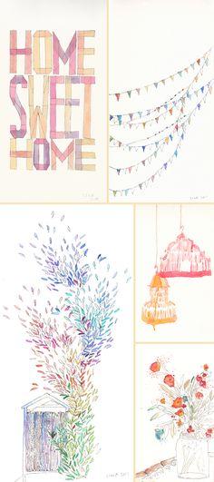 graphic/ textile designer Lina Moysis