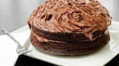 Bolo de chocolate gelado - Bolsa de Mulher