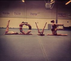 I SO have to do this with my gymnast friends!!!
