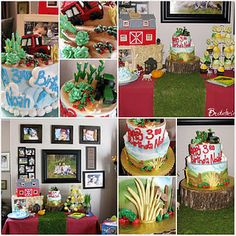Farm or Tractor Birthday Party