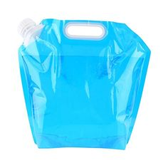Yosoo Portable Collapsible Water Storage Tank Water Container Water Carrier Lifting Bag Camping Hiking Survival Kit Tool 10L * Details can be found by clicking on the image.