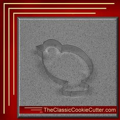 This is a 4 Chick. It is 1 inch high. This cookie cutter is $1.50. Don't forget to like us on Facebook. #CookieCutters #kitchen #Bake #Cookies #Shape #Mold #Dessert #Sugar #TheClassicCookieCutter.com Animal Cookie Cutters, Easter Cookie Cutters, Halloween Cookie Cutters, Christmas Cookie Cutters, Christmas Cookies, Christmas Tree, Leaf Cookies, Baby Cookies, Easter Cookies