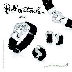 Belle Etoile Lasso Collection $215-$595 Available at Lyle Husar Designs, Brookfield WI