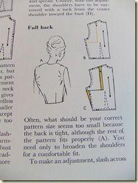 Broad back adjustment ... Great Tip!