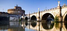 Rom, Engelsburg, Brücke, Tiber
