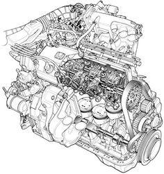 113 best engine cutaways images jet engine gas turbine aircraft T55 Engine Parts technical illustration at its best beau daniels is a genius car illustration car